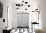 Kohler and Benjamin Moore collaboration-Old Hollywood bath