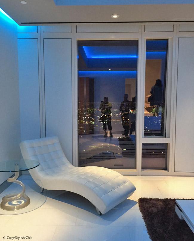 Poggenpohl-Blanco-Cosentino | Mandarino Oriental Residences, Las Vegas | Cozy Stylish Chic