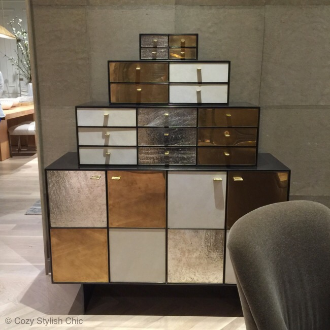 Kelly Wearstler-metallic finishes trend - High Point Market Spring 2015