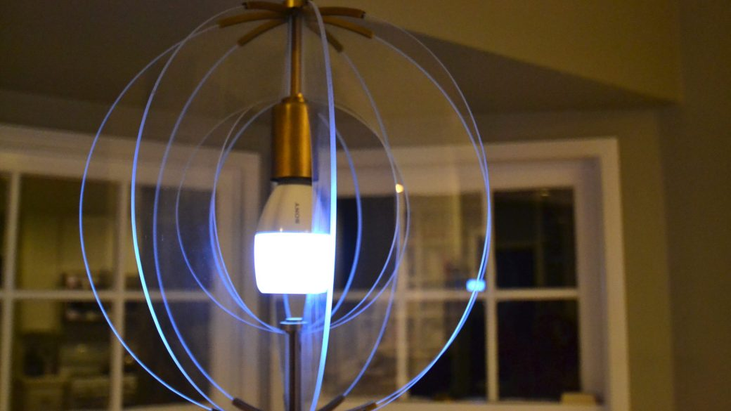 Light Meets Sound with Sony's LED Bulb Speaker