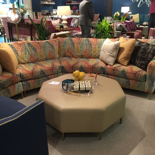 The Sexy Sectional - High Point Market Fall 2016 Trends