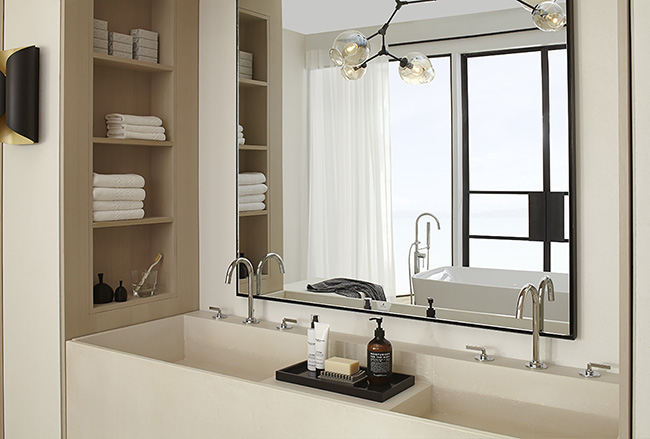 DXV - top Kitchen and Bath Trends for 2017 - KBIS