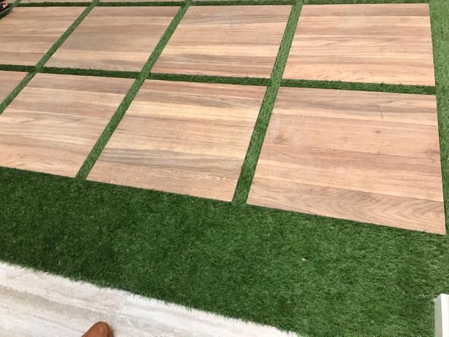 Coverings 2017 - indoor/outdoor trend