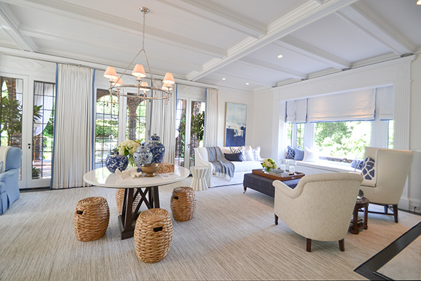 2017 Pasadena Showcase House of Design - Robert Frank Interiors via Cozy • Stylish • Chic