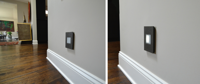 Designer light switches and wall plates from adorne by Legrand - Room design and photo: cozystylishchic.com