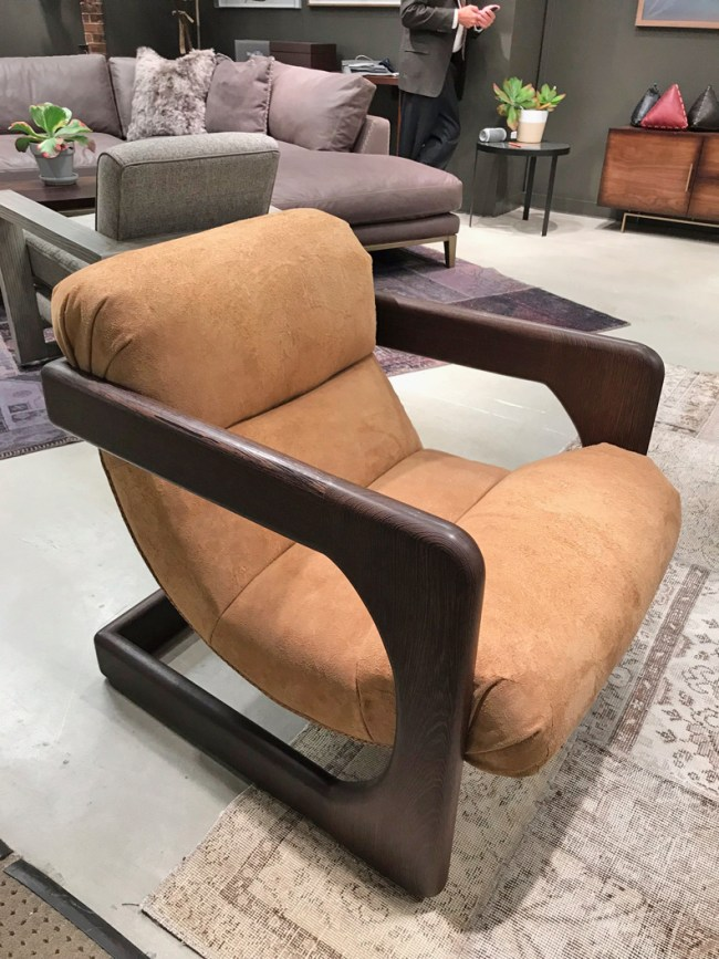 High Point Market Fall 2017 trends - Eleanor Rigby Leather via Cozy Stylish Chic