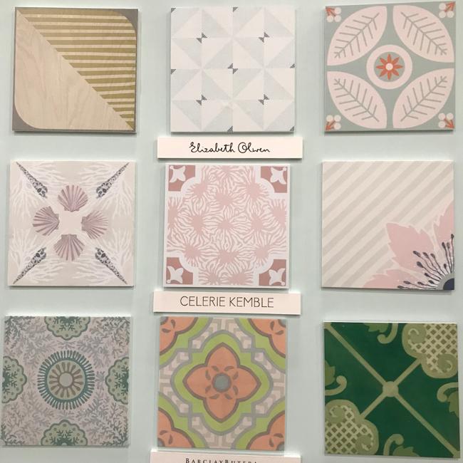 2018 tile trends - Digitally printed engineered wood floor tile