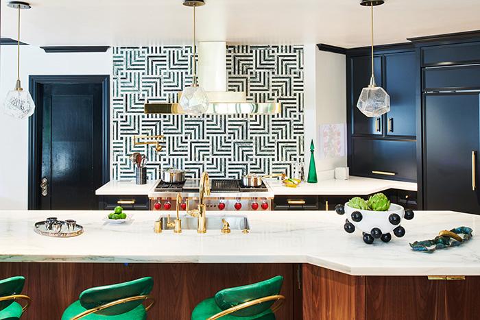 The 2018 Pasadena Showcase House Kitchen Cozy Stylish Chic