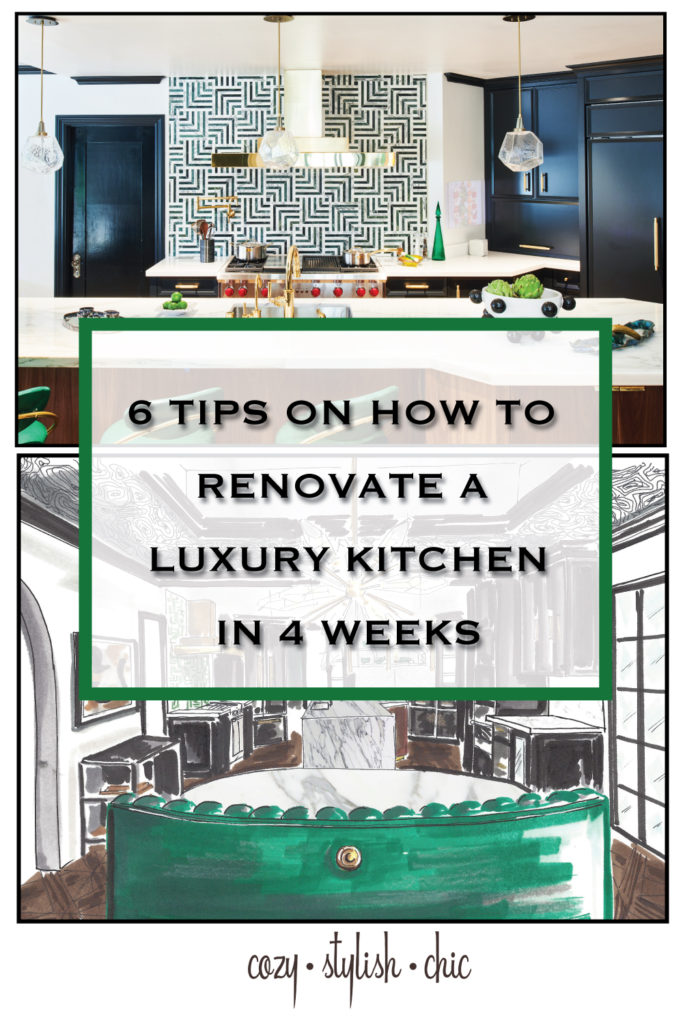 Tips on how I renovated the 2018 Pasadena Showcase House in 4 weeks | Cozy Stylish Chic