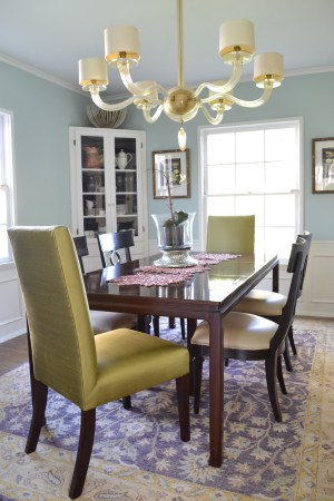 Traditional dining room by Pasadena interior designer Jeanne K Chung