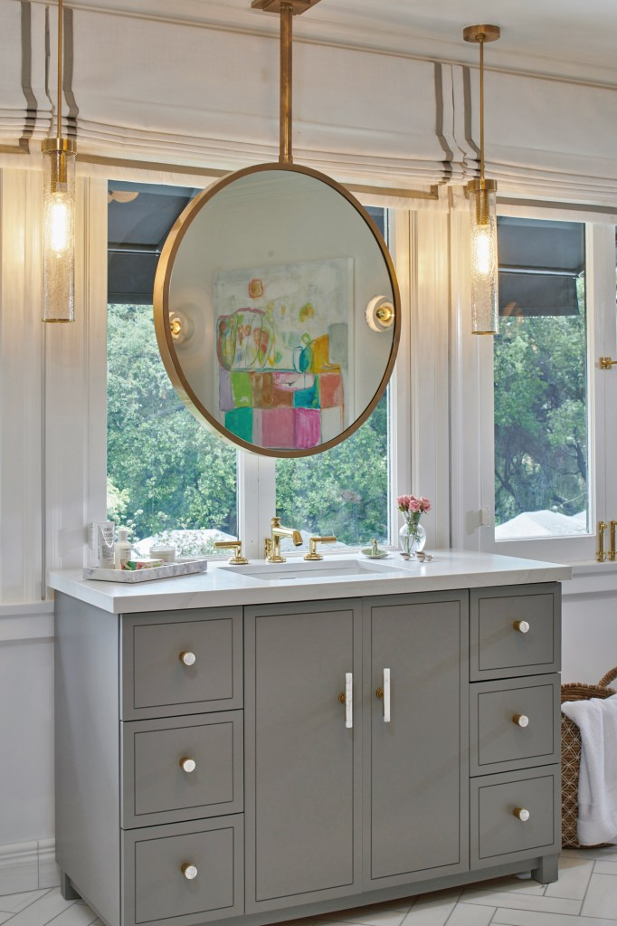 Teen girl bathroom ideas  -  Pasadena Showcase House