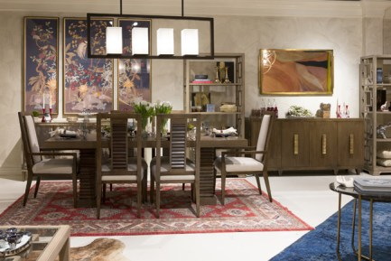 Alden Parkes Showhouse in a Showroom - High Point | Desinger: Jeanne K Chung