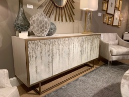Off-White sideboard at Highpoint Market