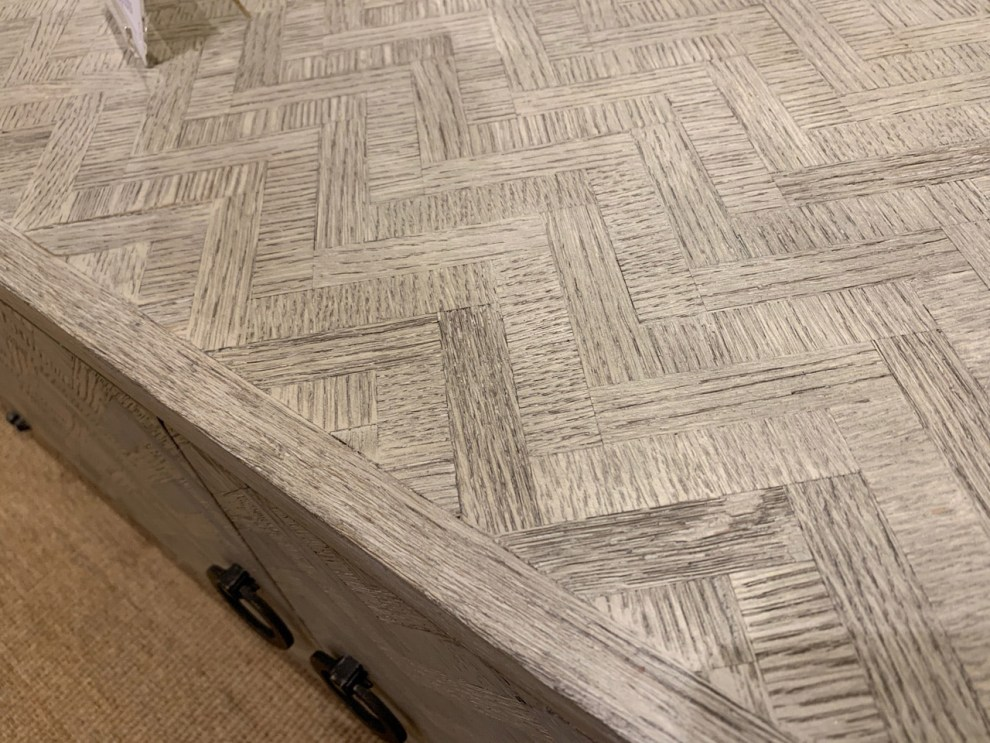 grey wood grain parquetry at Highpoint Market