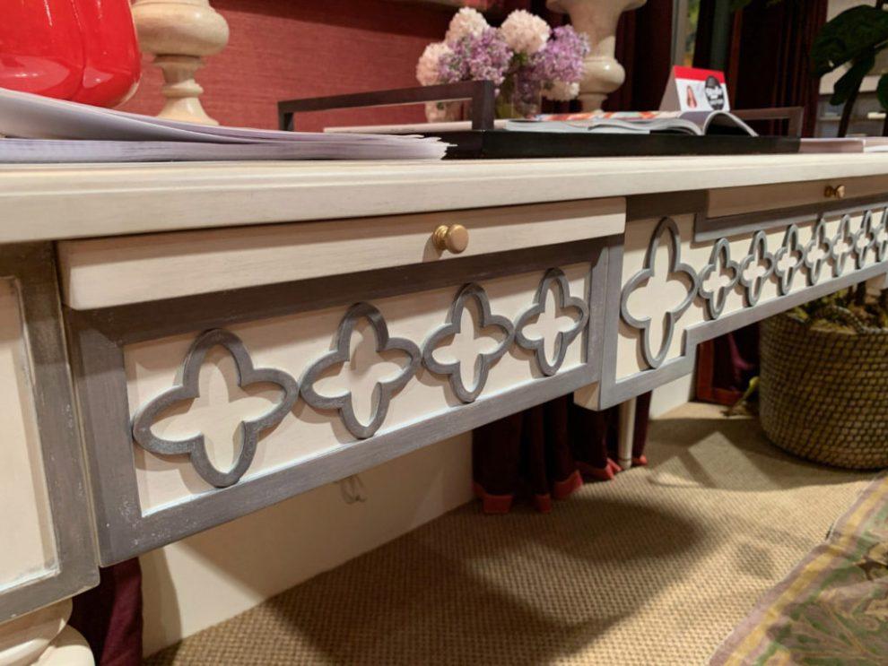Alex Hampton Decorative wood Frieze - design trend spring 2019 at High Point Market