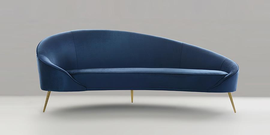 Nathan Anthony's 3-legged Juliet sofa 2019 Design Trends - High Point Market
