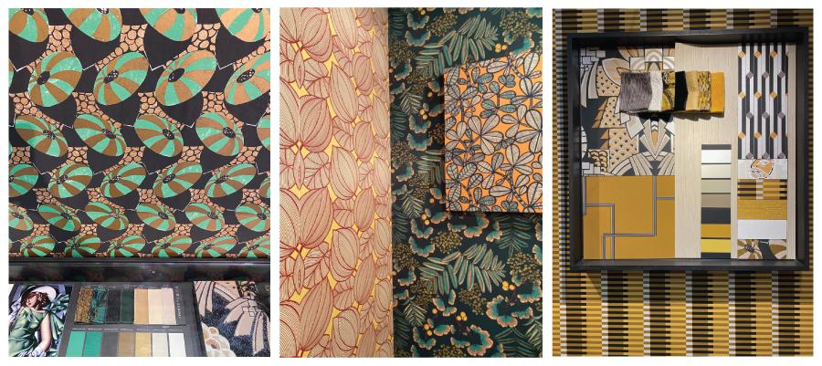 Art-Deco-textile-trends - Heimtextil 2020
