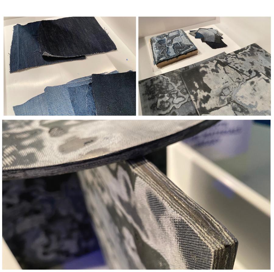Epoxy-denim - sustainable materials
