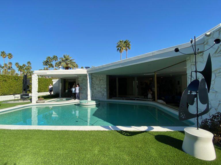 Palm Springs mid century pool design
