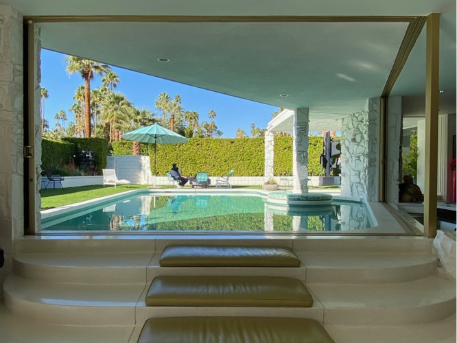 Bill Krisel midcentury modern indoor/ourdoor living in Palm Springs
