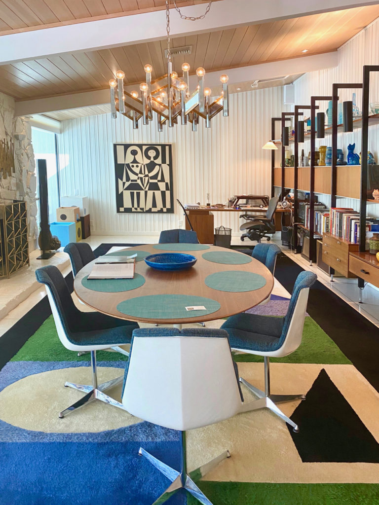 Mid century dining room - Palm Springs