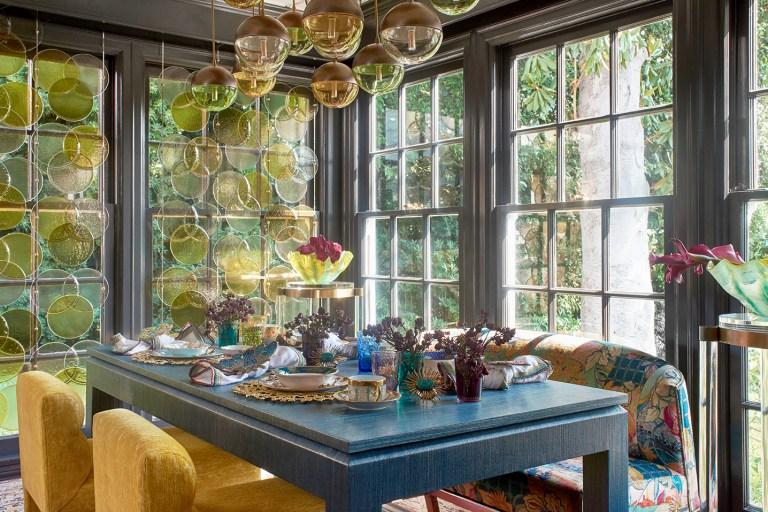 2020 Pasadena Showcase House Breakfast Room designed by Jeanne K Chung