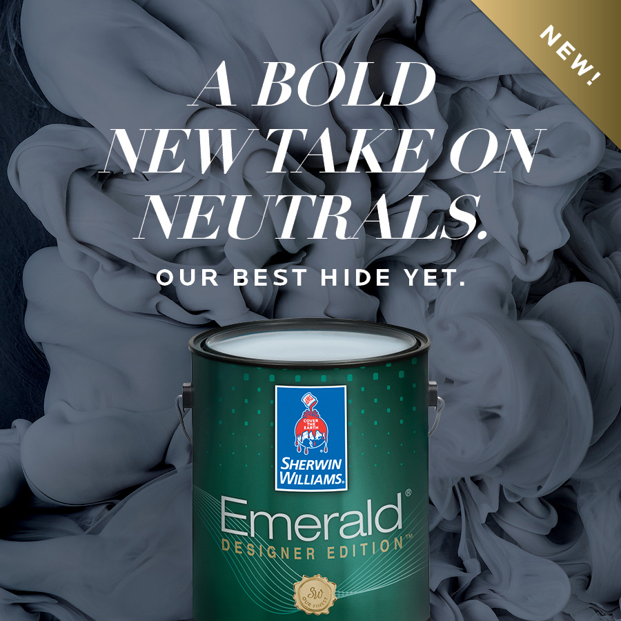 SHERWIN-WILLIAMS EMERALD EDITION PAINT COLLECTION