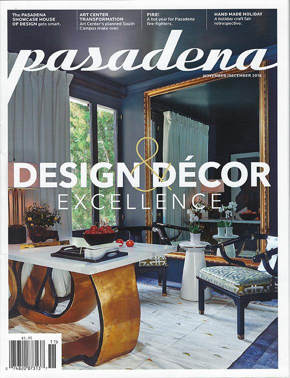 Pasadena Magazine 11-18