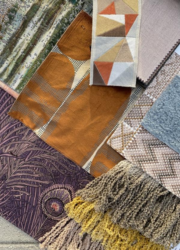 Modern fabrics for a cozy bedroom -Fabricut-S Harris - Stroheim