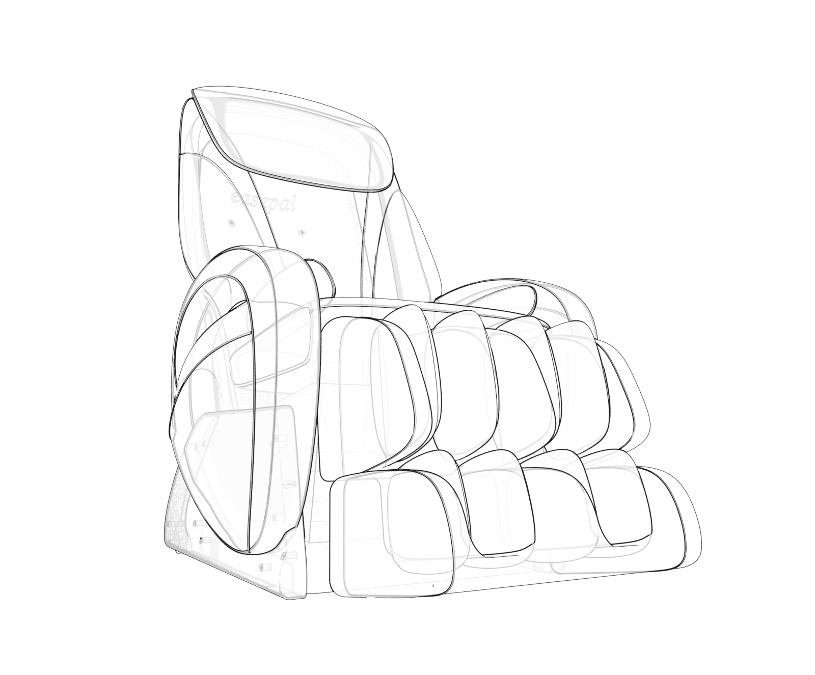 CZ-322 Perfect massage chair with advanced technology
