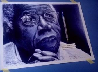 CHINUA_ACHEBE_ballpoint_pen_drawing_by_oscar_UKONU(2)