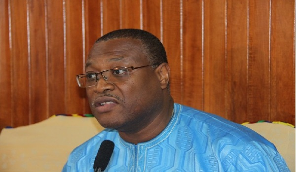 Ghana's Minister of Health, Alex Segbefia