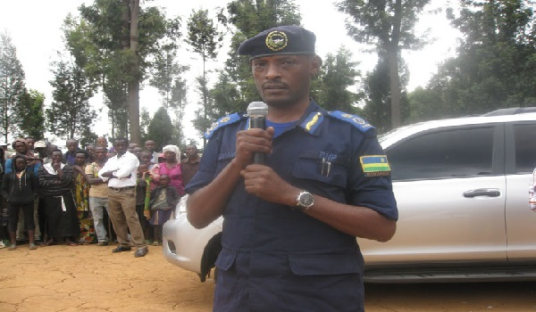 CP  Bruce Munyambo, the Rwandan Police Commissioner. Image Credit: Kigali Today