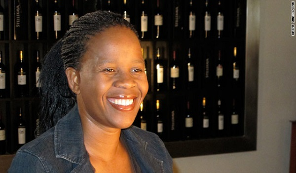 Africa's first Black female wine maker Image Credit: CNN