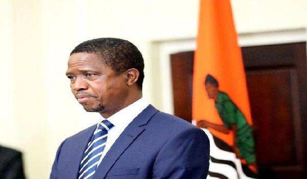President of Zambia, Edgar Lungu Image Credit: www.mwebantu.com