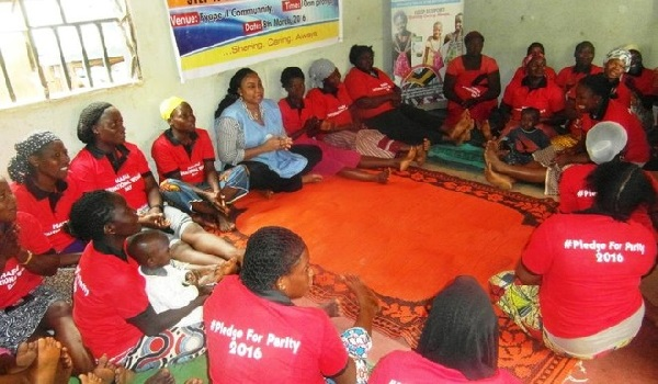 Health Aid For All Initiative (HAFAI) has begun a programme teaching women in rural areas of Abuja to make sanitary pads that can be washed and re-used.