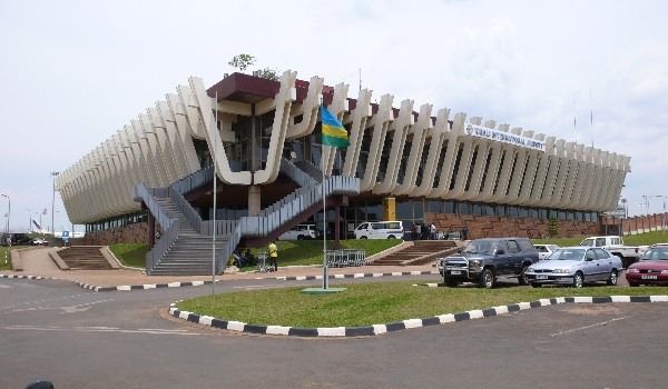 Kigali International Airport which attendees will come into Rwanda with for the African Aviation conference, 2017.