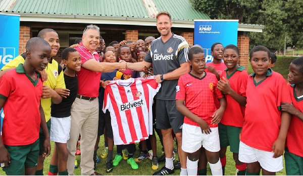 Sunderland FC's Head of International Football Development, Graham Robinson during one of his visit to South Africa.