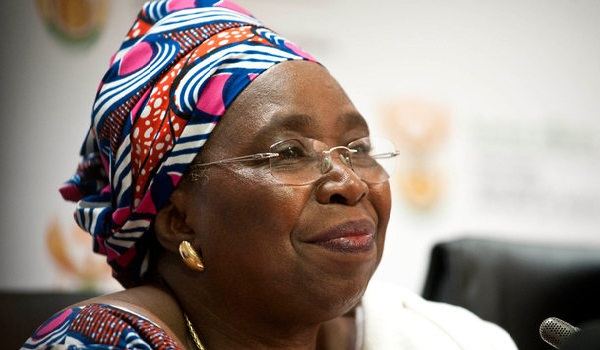 Mrs Nkosazana Dlamini Zuma, Chairperson of the African Union Commission. Image Credit: Inspiring women South Africa.