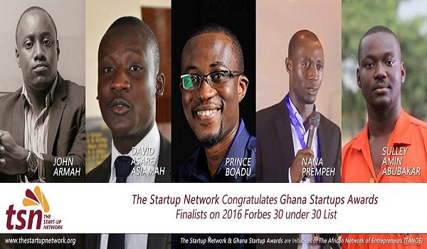 Ghana Startup Awards Finalists
