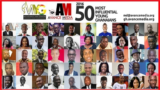 2016 50 Most Influential Young Ghanaians