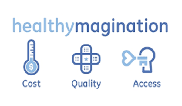 healthymagination at ge The ge healthymagination fund is part of ge's $6 billion healthymagination initiative, a global commitment to deliver better healthcare to more people at lower cost the fund targets three broad areas for investment: broad-based diagnostics, healthcare information technology, and life sciences.