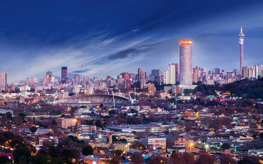 romantic places in Africa - Johannesburg