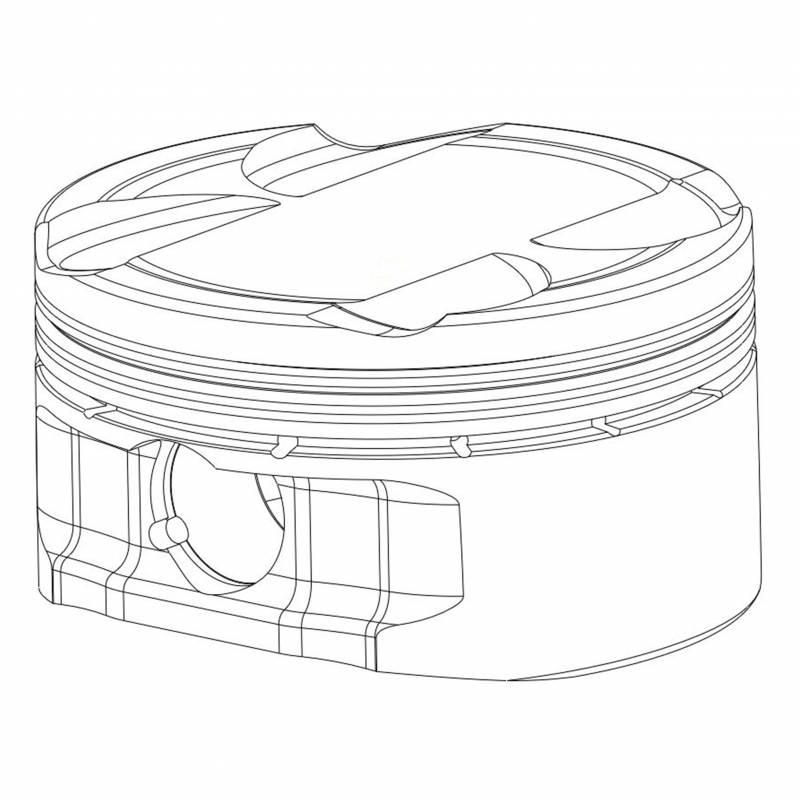 2014-2018 Polaris RZR 1000 Piston Kit