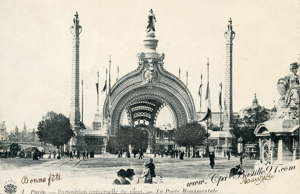 Porte Monumentale De Lexposition Universelle De 1900