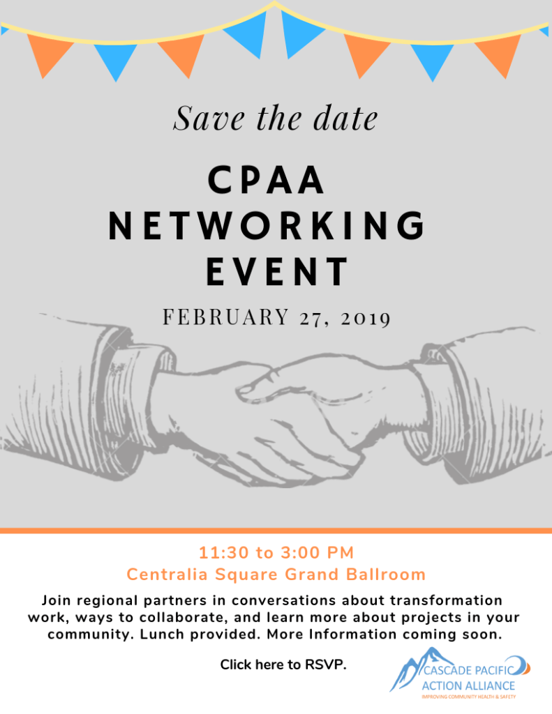 CPAA Networking Event February 27 from 11:30 - 3:00
