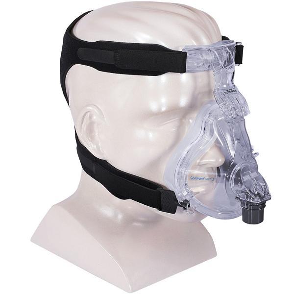 Philips-Respironics CPAP Full-Face Mask : # 1004873 ComfortFull 2 with Headgear . Medium