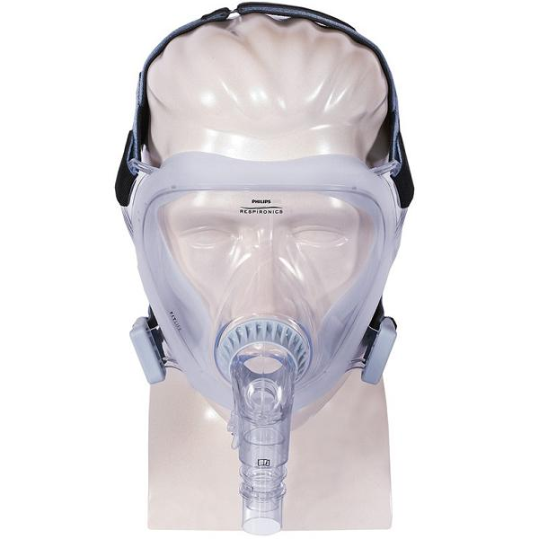 Philips-Respironics CPAP Full-Face Mask : # 1060803 FitLife with Headgear . Small