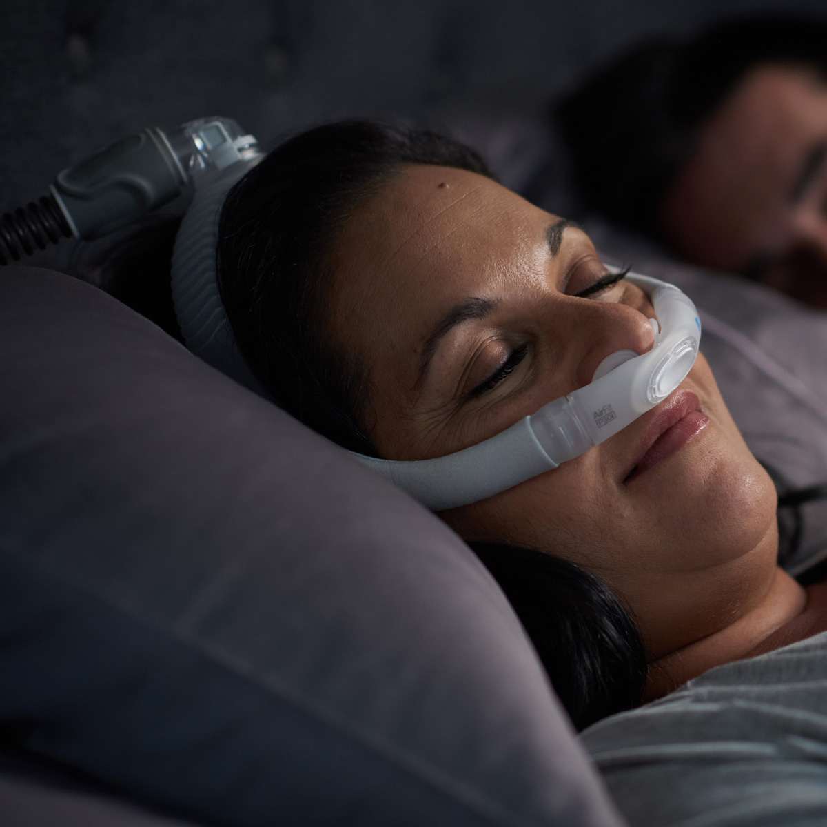 airfit p30i nasal pillow cpap bilevel mask starter pack with headgear