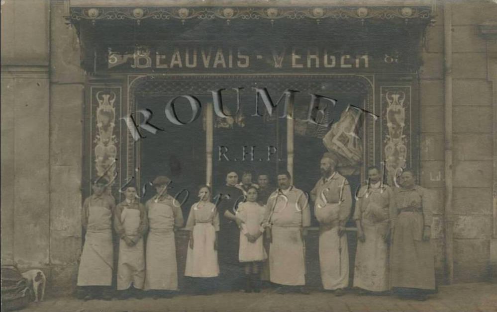 RsoluBoucherie BEAUVAISVERGER  Chaville   Enqutes  Page 2  Cartes Postales Anciennes